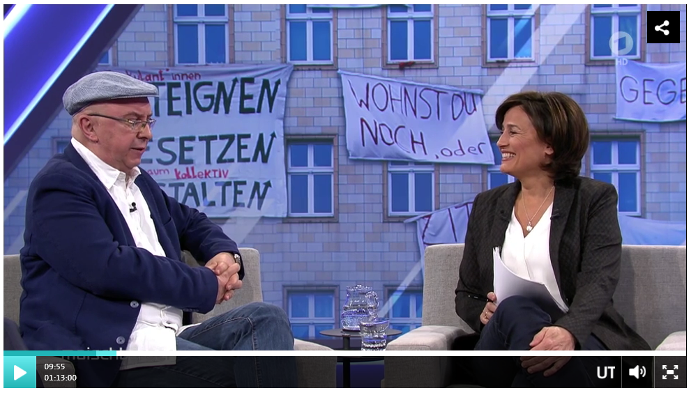 In der Offensive: Michael Prütz von der Initiative Deutsche Wohnen & Co. enteignen